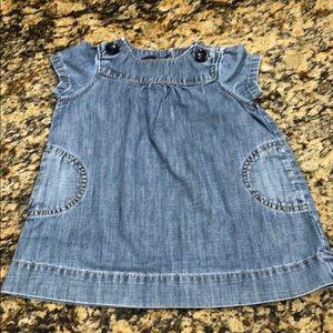 Gap Baby denim dress size 12-18 months